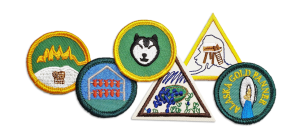 Badges Patches Fairbanks Girl Scouts